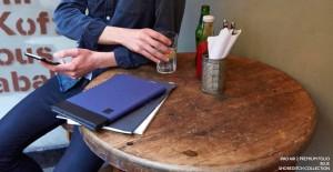 iPad Air 2 Premium Folio Blue Shoreditch Collection